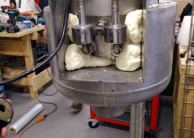 Injectie PU schuim dubbelwandige industriële installatie.